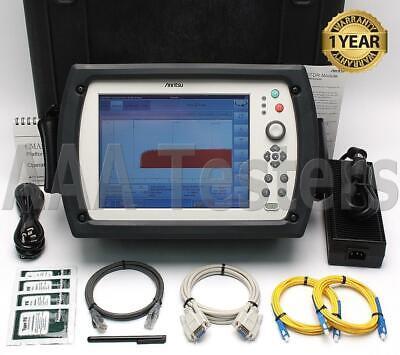 Anritsu Gn Nettest Cma5000a 5225 Sm Fiber Optic Otdr W Pm Vfl Cma 5000a