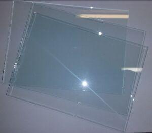 25 Stück Ersatzglasscheiben für Sandstrahlhelm CLEMCO Apollo-100