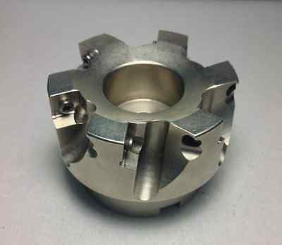 3in. Indexable Face Mill 1in. Pilot Diameter 6-flutes Sonx 1205 Carbide Source