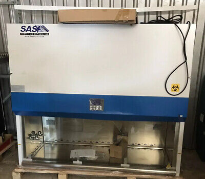 Large 6 Sentry Air Systems Sas Purifier Class Ii Biosafety Cabinet Freedelivery