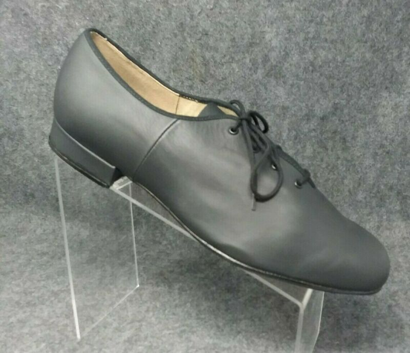 Bloch Womens Lace Up Black Dance Shoes Size 10.5 NEW!