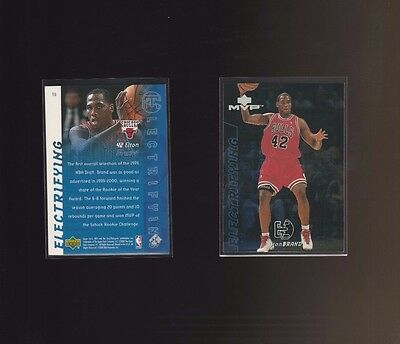 2000-01 Upper Deck MVP Electrifying E6 Elton Brand Chicago Bulls