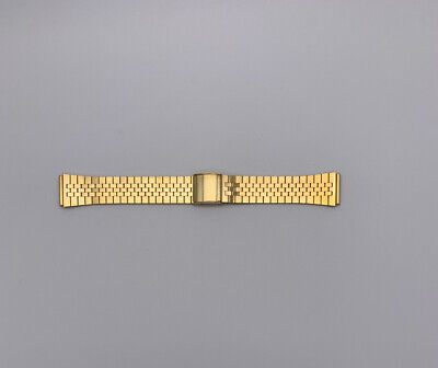 Vintage Gold Plated Stainless Steel Watch Bracelet