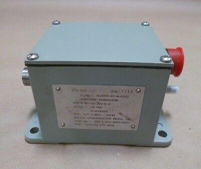 L-3 Communications 4900p6518-15 Pressure Transducer Torque Motor 28v 200 Psig