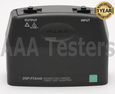 Fluke Dsp-fta440 Mm Fiber Gigabit Test Adapter Dsp 4000 4300 Fta440