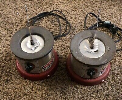 Solder Pot2.5 Lbs600w850 F American Beauty 600. Filled With Solder Heavy