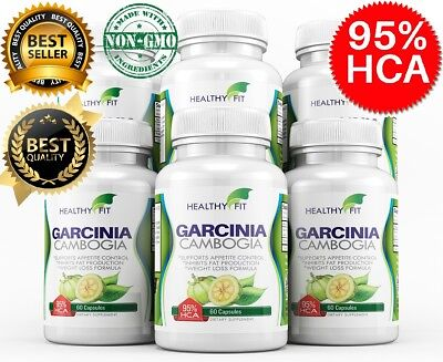6 X Bottles 360 Capsules 3000Mg Daily Garcinia Cambogia Hca 95  Weight Loss Diet