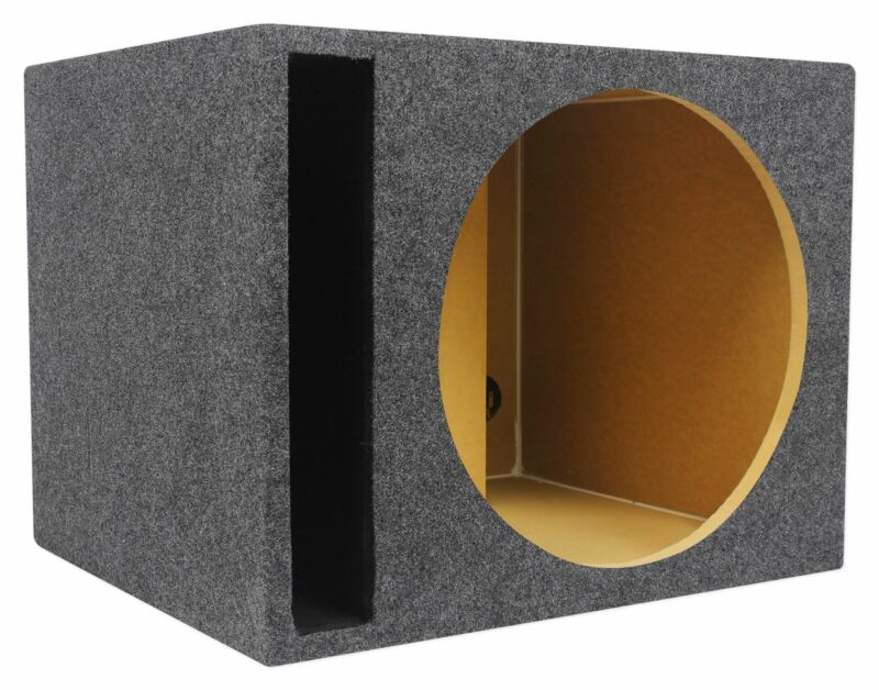 "Rockville RSV15 15"" Vented Car Audio Subwoofer Box 2.6 Cubic Ft. Sub Enclosure"