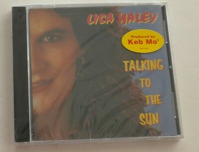 Sealed Talking To The Sun Lisa Haley Cd Produced By Keb Mo