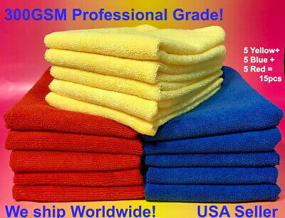 Red Blue Yellow: BEST MICROFIBER CLEANING CLOTH TOWEL 16