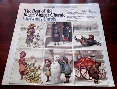 The Best Of Roger Wagner Chorale  Christmas Carols 196?  Capitol ST-2591 LP