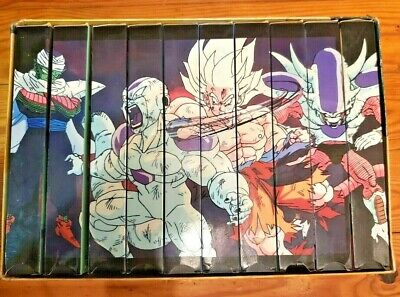 TESTED Dragon Ball Z: The Frieza Saga VHS Box Set COMPLETE uncut - WITH BOX