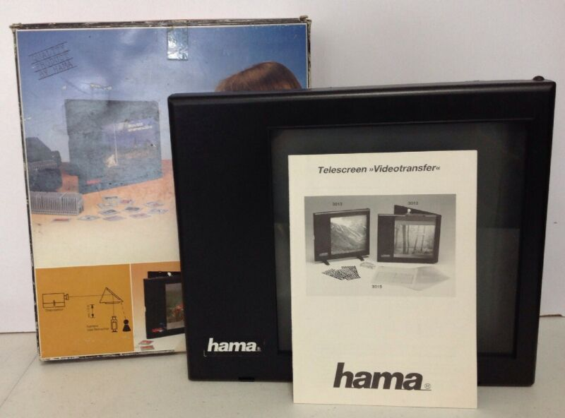 Hama 3012 Telescreen Videotransfer Daylight Screen