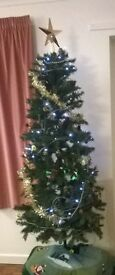 Realistic Artificial christmas tree £10 great condition
