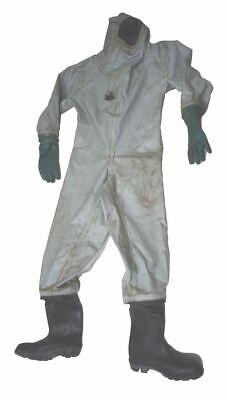 Msa Auer Marine Industrial Chemical Gas Tight Hazmat Protective Suit