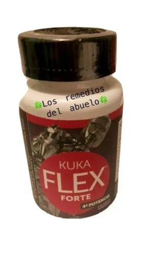 KUKA FLEX FORTE JOINT PAIN CURCUMA/ ALOE VERA / TE VERDE 30 CAPS 100% Original