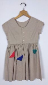 Vtg-Usa-1950s-50s-Childrens-Rockabilly-Rock-And-Roll-Dress-Kids