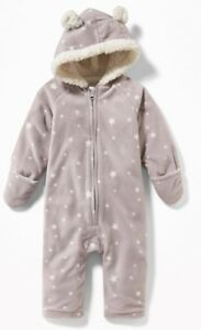 3-6 month Old Navy bunting snow suit