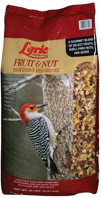 Wild Bird Food 20 lb. Fruit and Nut High Energy  Mix