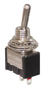 8 x Miniatur Kippschalter Ein / Aus 1-polig On / Off  Schalter