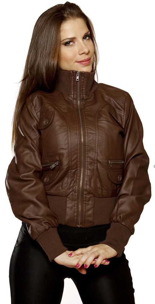 Faux Leather Bomber Jacket Buying Guide | eBay