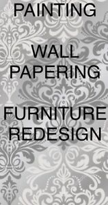 PAINTING WALLPAPERING FURNITURE REDESIGN