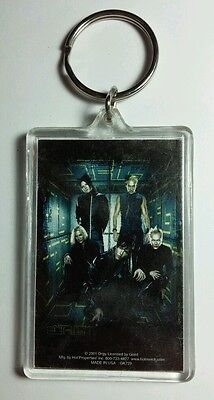 AS-IS ORGY GROUP BAND PHOTO IN BOX MUSIC KEY CHAIN KEYCHAIN