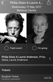 Philip Glass & Laurie Anderson