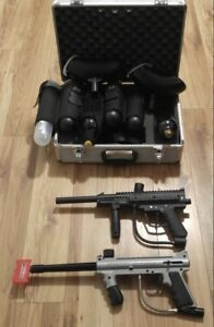 2 Paintball Markers with extras