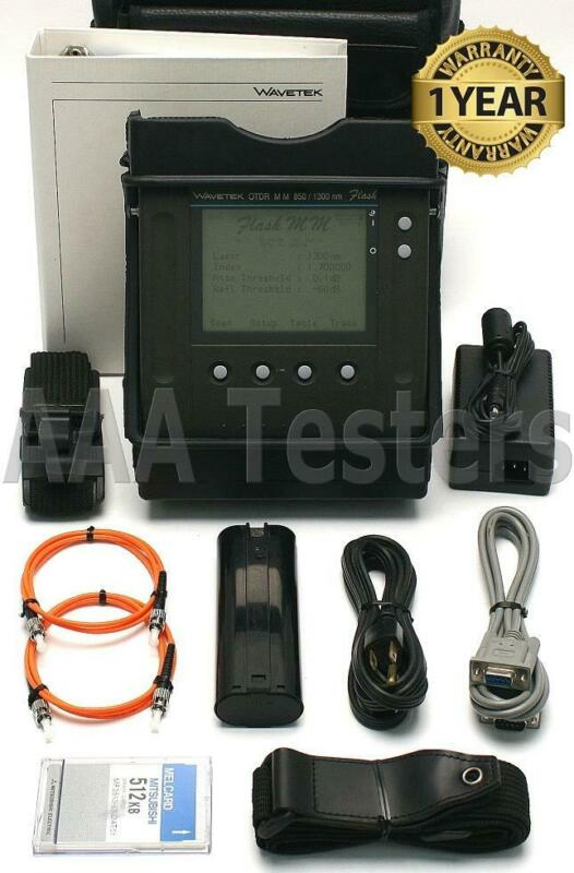 Wavetek Acterna 7973 Flash MM Fiber Mini OTDR