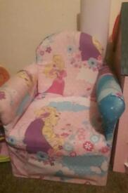 Small Disney Princess Chair