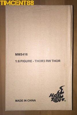 Ready Hot Toys Excluive MMS416 Thor: Ragnarok Roadworn 1/6 Chris Hemsworth