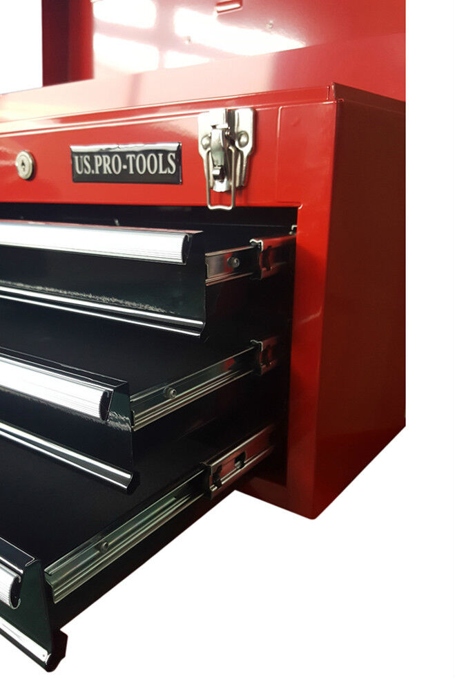 US Pro tools Portable Toolbox Tool Chest Box Cabinet ...