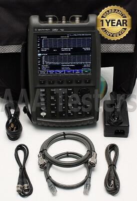 Agilent N9912a Fieldfox Rf Cable Antenna Combination Analyzer W Opt 104 4 Ghz