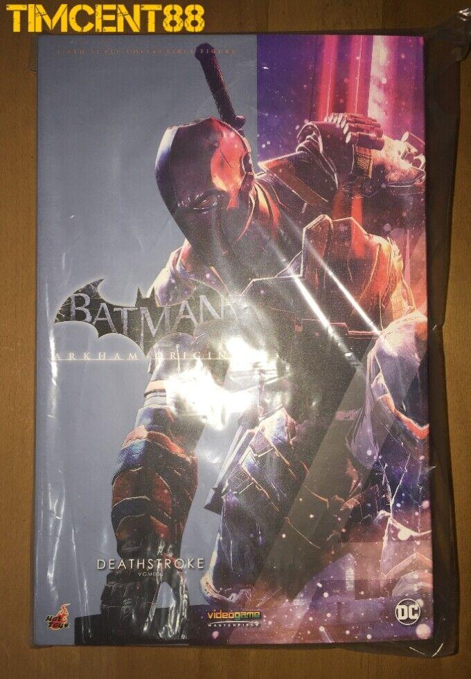 Ready! Hot Toys VGM30 Batman: Arkham Origins 1/6 Deathstroke