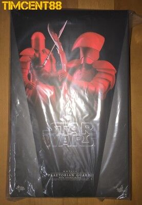 Ready Hot Toys MMS454 Star Wars The Last Jedi Praetorian Guard With Double Blade