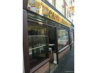 Town center fish and chips/ fast food takeaway & deliveries