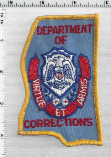 Department of Corrections (Mississippi) 1st Issue Shoulder Patch