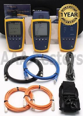 Fluke Ms2-ftk Microscanner 2 Simplifiber Pro Copper Mm Fiber Loss Test Kit