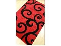 Brand new sealed red/black rug for sale 4