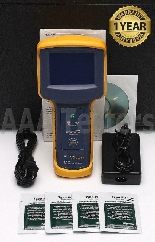 Fluke Networks FT630 Fiber Inspector Pro Display FT-630