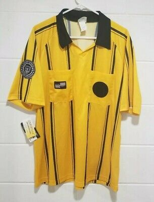 76905f58050 USSF SOCCER REFEREE JERSEY OFFICIAL SPORTS Yellow Large