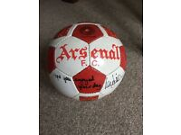 Arsenal signed football
