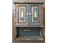Seaside theme vintage Bathroom Cabinet