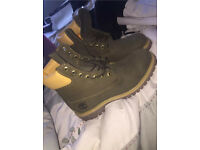 (Limited Edition) Khaki Green Timberland Boots