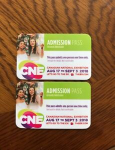 CNE general admission tickets