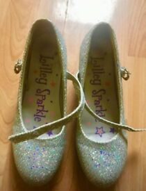 Lilley Sparkle Bling girls shoes size 3