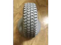 3.00x4 Mobility Scooter Infilled puncture proof tyre