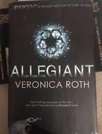 Allegiant- Veronica Roth hardback edition £5 ONO