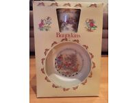 Royal Doulton Bunnykins 2 Piece Set 1985